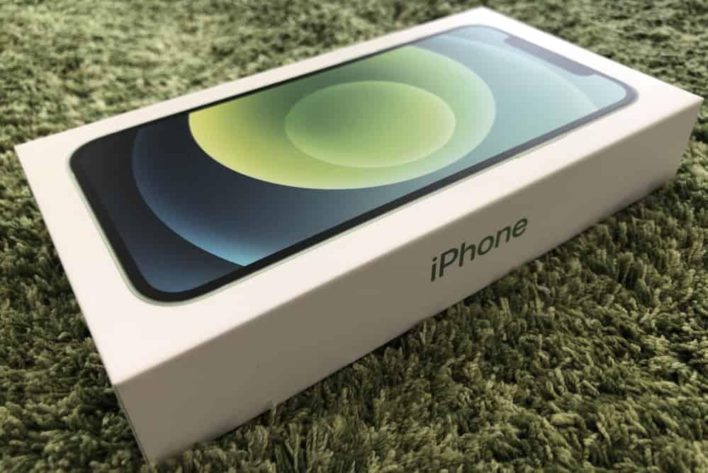 iPhone12のグリーン